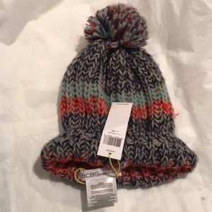BCBG Multi color hat